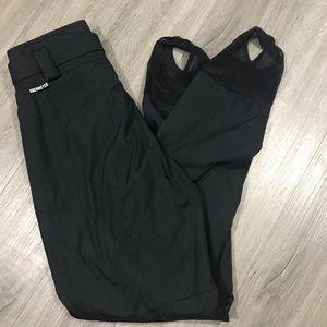 Obermeyer  Black Belted Sturup Ski Pants size 10